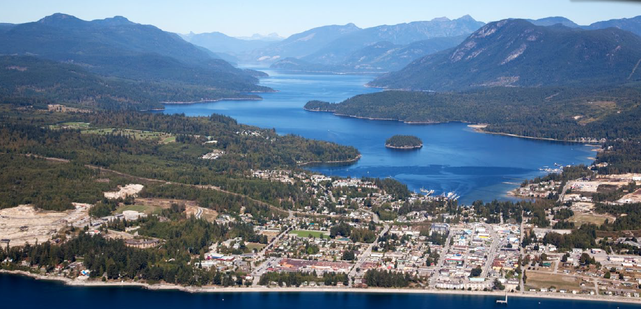 Sechelt is a small community of 9,300 with a budget a 10th the size of Nanaimo's